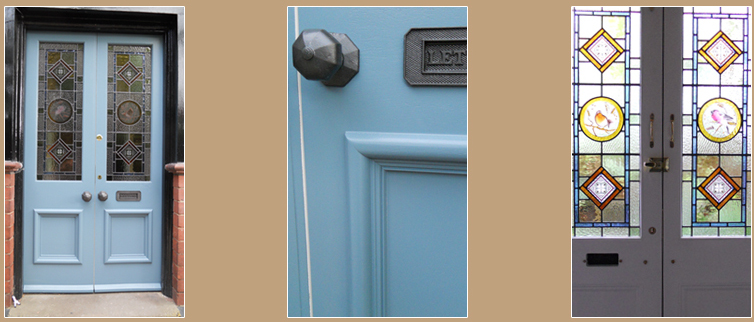 Victorian Style Double Entrance Doors Kidderminster Worcestershire